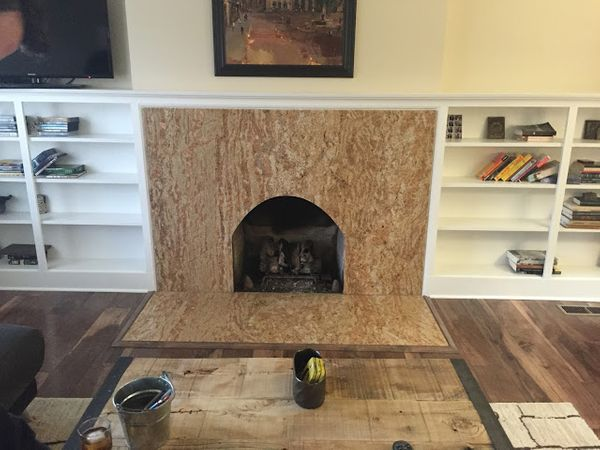 The World's Ugliest Fireplace